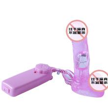 Kleiner Junge vibrierende Festsilikon künstlichen Sex-Spielzeug (XB040)