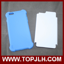 3D TPU+PC Sublimation Phone Case for iPhone 6/6s Plus