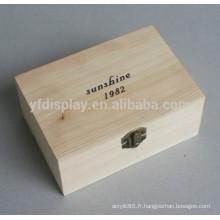Boîte de bijoux en bois de cerise