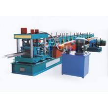 Máquina formadora de rollos de chapa de acero tipo C