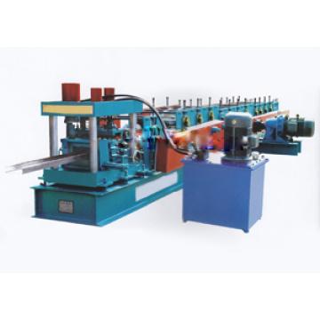 Máquina formadora de rolos de folha de telhado de canal C