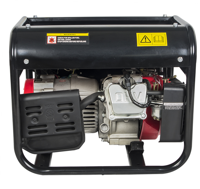 Recoil Start Petrol Gasoline Generator Set 1kw