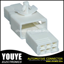 Conector de cabo plástico automotivo elétrico masculino de 6p para o carro de Toyota