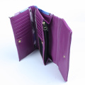 Fashion Pattern Flowers Design Card Holder Leather Purse