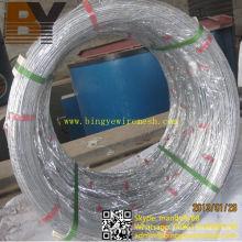 Alambre Oval galvanizado Hot-Dipped de la alta calidad