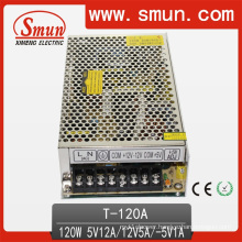 120W 5V/12V/-5V Triple Output Switching Power Supply