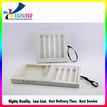 Caixa de papel / caixa de batom / caixa de cosméticos / Lipglossy Set Box