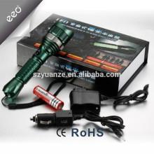 Los productos más vendidos, linterna táctica del LED, linterna recargable llevada