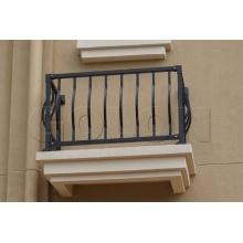 Aluminum Bent Curve Balcony Railing