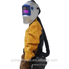 Casco de soldadura oscurecimiento automático con respirador