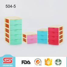 Fashionable high quality plastic desktop drawer box organizer for sale