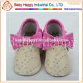 Novos sapatos de luxo de couro macio garotas meninos meninos 0-6 6-12 12-18 18-24 M
