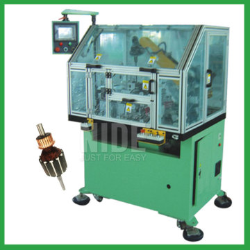 Automatic armature commutator lathe machine