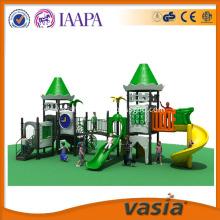 Children outdoor wooden playground equipment naughty castle