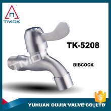 BSP thread stainless steel bibcock garden faucet tap kitchen for washing machine