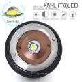LED militar tático zoom lanterna com carregador de bateria recarregável X800