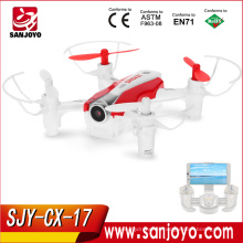 Cheerson CX-17 2.4G 4CH Quadcopter WiFi FPV RC Drone Con Cámara HD que señala Vuelo Mini Selfie drone