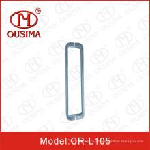 Quadratischer Tube-Glas-Tür-Zuggriff
