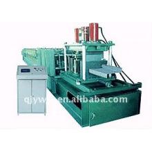 QJ cor automática aço C e Z purlin rolo dá forma à máquina