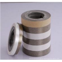 Fita de mica de vidro de alta qualidade para cabo Fita de mica sintética com lados duplos