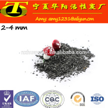 Granular activated carbon made from coal for air clean