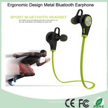 Accesorios móviles Metal sin hilos Bluetooth auricular estéreo (BT-128Q)