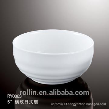 Factory wholesale ceramic white bowl