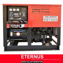 Ensemble de générateur industriel à démarrage électrique (ATS1080)