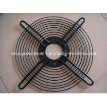 Металлическая сварная защитная решетка вентилятора для машины