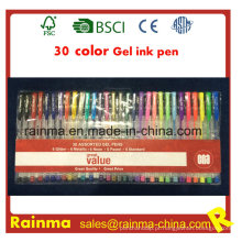 Caneta de tinta gel de 30 cores