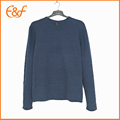 Navy Basic Pullover Long sleeves Men Jumpers