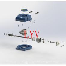 Caixa de Engrenagem Sem-fim-Volta Manual para Válvulas