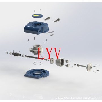 Manual Part-Turn Worm Gearbox for Valves