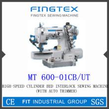 Máquina de coser de alta velocidad Cylider cama Interlock (600-01CB/UT)