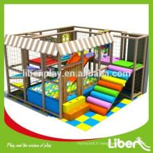 Personnaliser les enfants à l'intérieur pour l'école, divers styles d'équipement de jeu pour enfants à l'intérieur