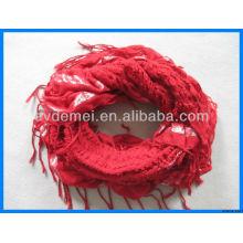 Good quality lady custom woven scarf