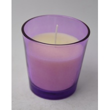 Uso de decoración para el hogar y vela perfumada de jarra con características perfumadas