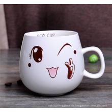 Porzellan Becher Keramik Kaffeetasse (XLTCB-003 300)