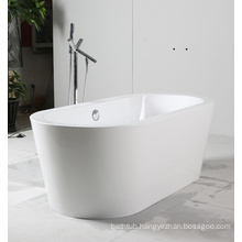 White Freestanding Acrylic Bathtub