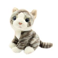 Juguete de peluche de juguete de animales de peluche realistas para la venta