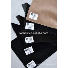Tejido de terciopelo para hombres 100% algodón en stock de gran calidad