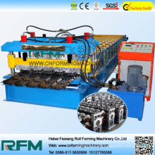 FX high quality ce glazed tile roll forming machines china