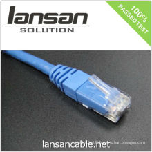 1 FT Boot RJ45 UTP Cat5e Network Patch Cable - Bleu