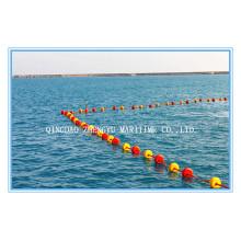 Marine schwimmende Schaumboje