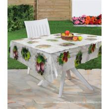Cubierta de tabla transparente del PVC, material del PVC y cubierta de tabla clara del PVC de la forma cuadrada