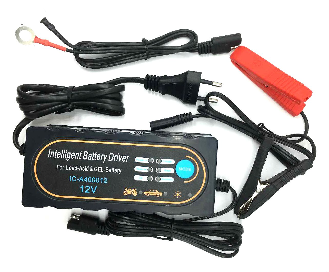 4 Stages Battery Charger