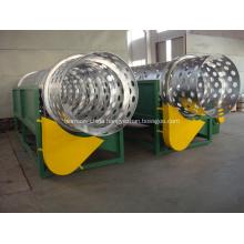 Plastic trommel separator machine