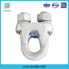 Manufacturing Companies for Wire Rope Fittings Galvanized Stay Wire Clamp Guy Wire Rope Clip export to French Guiana Wholesale