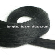 high quality Wholesale virgin double drawn human hair extension