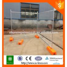 Conception de clôture temporaire galvanisée de style australien de haute qualité
